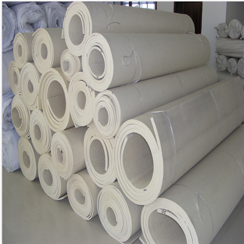Cost-Effective 100% Polyester Material Felt 3.2m Width Used in Textile Industry