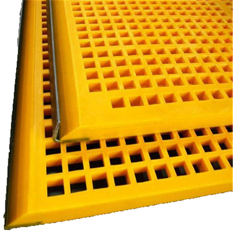 Size Customized Poly Screen Media for Mining and Stone Separation