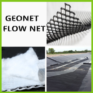 Plastic 3D HDPE Drainage Composite Geonet for Landfill