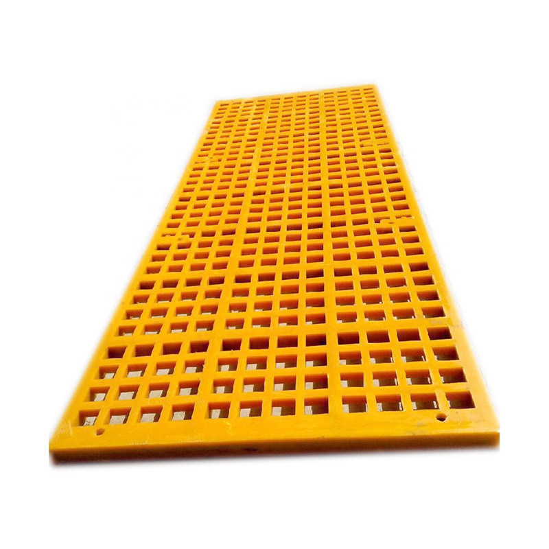 Color Customized Vibrating screen Mesh with 5mm Hole for Mining