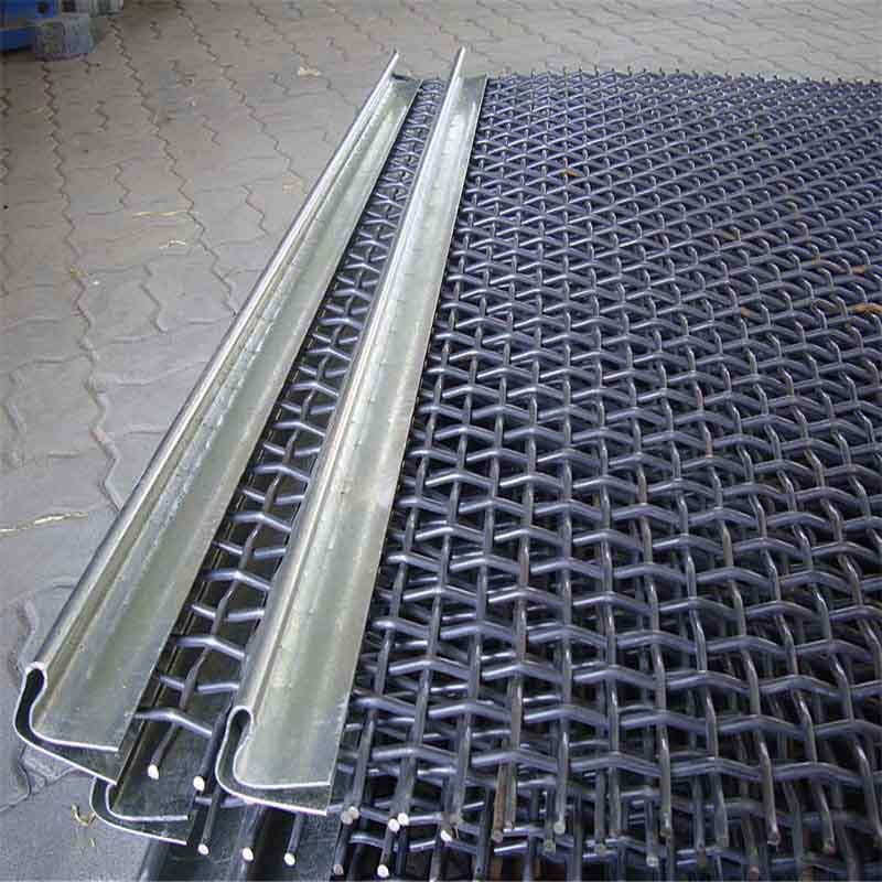 Tension Steel Woven Screen Wire Mesh with Hooks Wire Screen Sieve