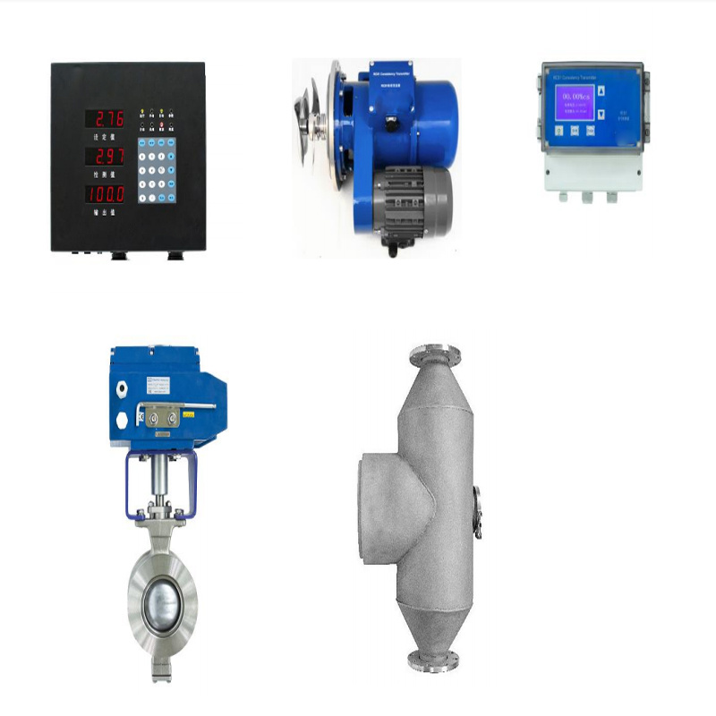 Blade Consistency Transmitter for Measurement of Pulp Density