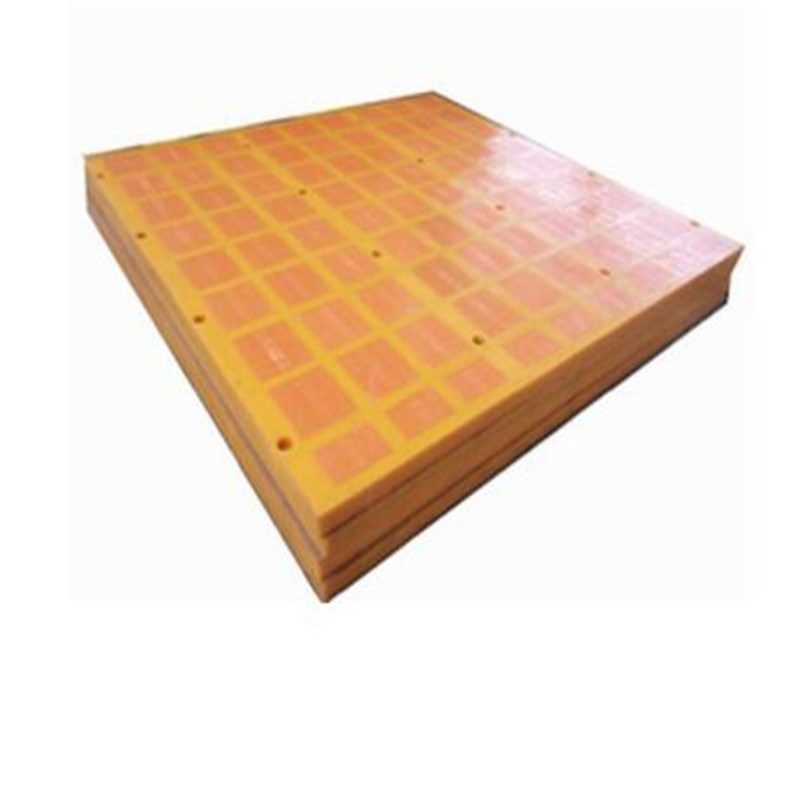 Rose Nail Installation Type Dewatering Polyurethane Screen Mesh for Tailings Dry
