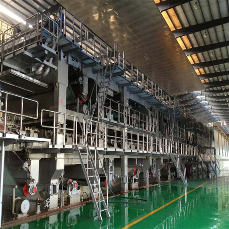 Paper Making 2800/500 Double-Wire Multi-Cylinder Test Liner Board Paper Machine