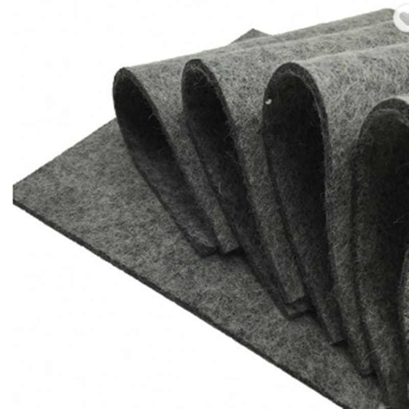 100% Pure Wool Soft Industrial Felt Fabric with 25mm Thickness ISO Standard