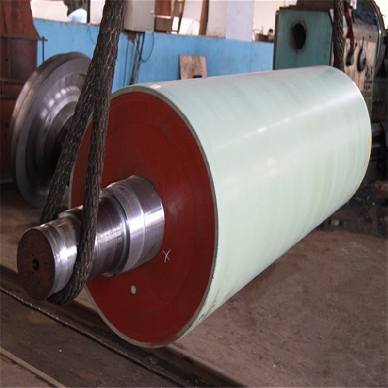 Artificial Stone Press Roll for Paper Industry