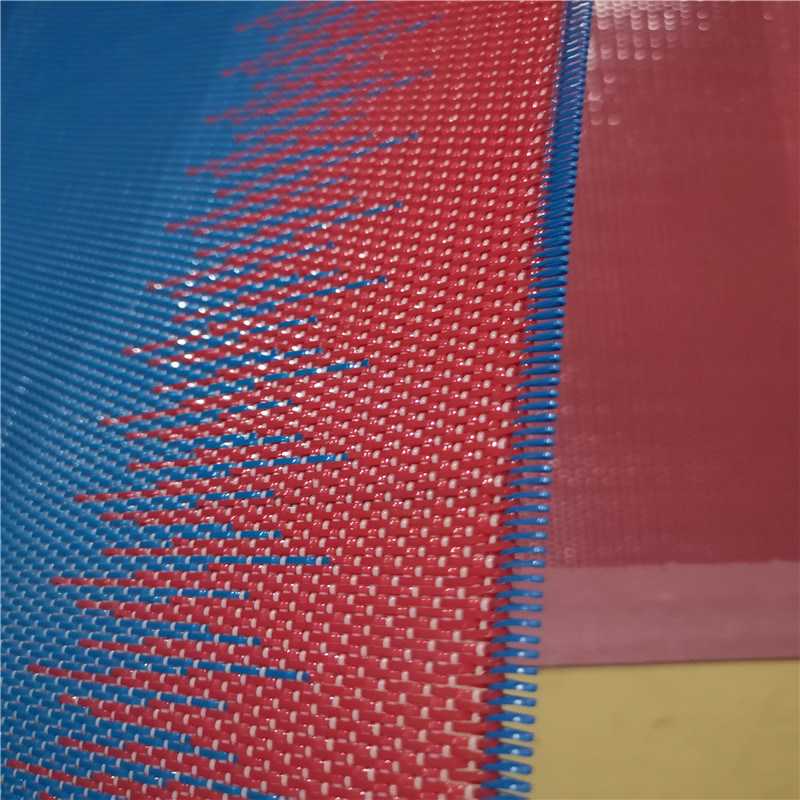 Woven Dryer Fabric with Flat Yarn for Paper Machine