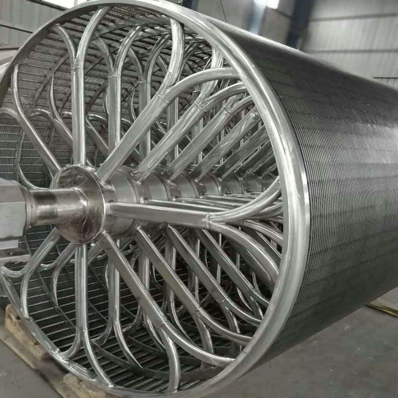 Ss 316L Cylinder Mould for Paper Making Machine