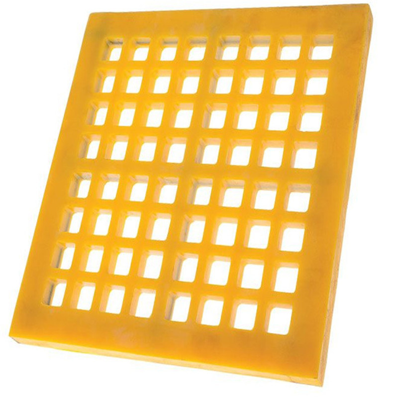 30-60mm Thickness PU Screen Mat for Mining and Quarry Screening