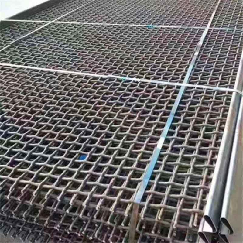 Mining and Quarry Screens Mine Screen Heat Resistant Wire Mesh Vibrating Screen Mesh