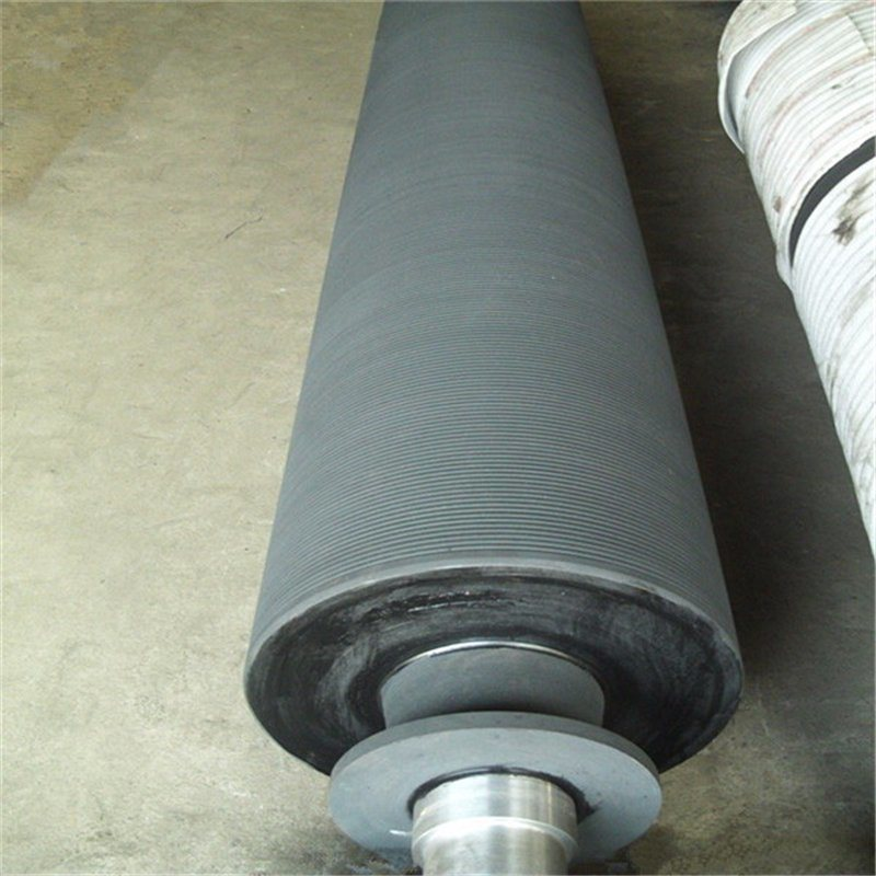 Paper Machine Press Section Grooved Roll