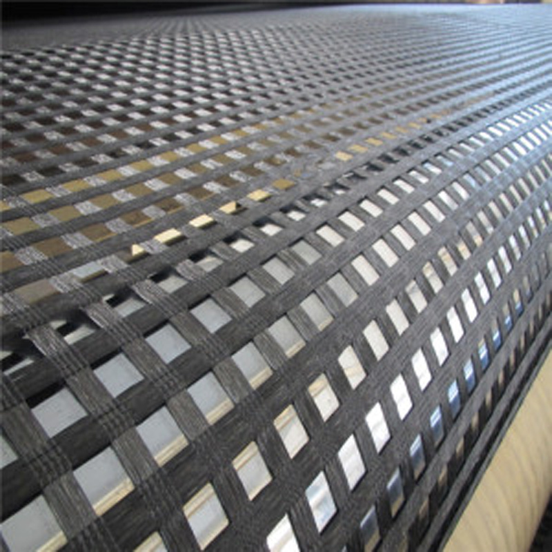 High Tensile Strength Polyester Geogrid for Soil Reinforcement