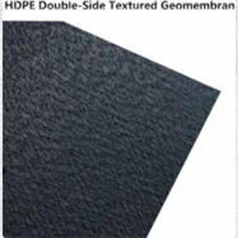 High Tensile Strength Single and Double Textured HDPE Geomembrane