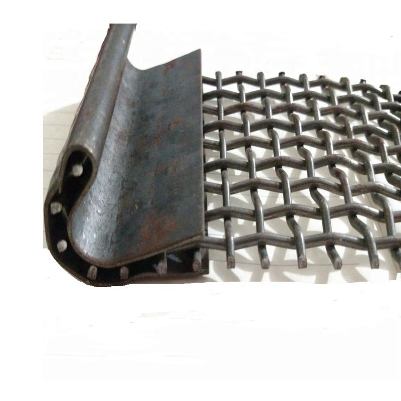 Vibrating Wire Mesh with Stainless Steel Wire Used for Mining and Quarry