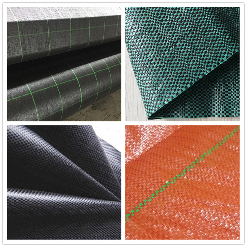 PP Woven Fabric / PP Woven Geotextile Fabric 70GSM, 80GSM, 90GSM, 100GSM, 110GSM