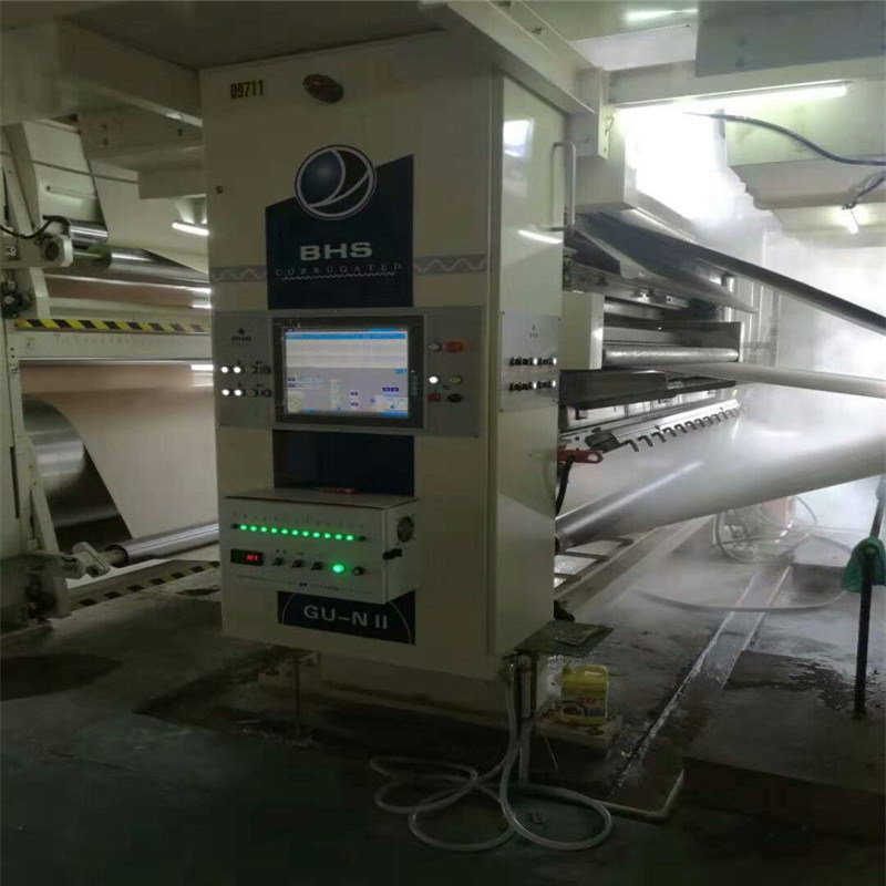 Slitter Scorer Spray Humidification System for Corrugated Paperboard
