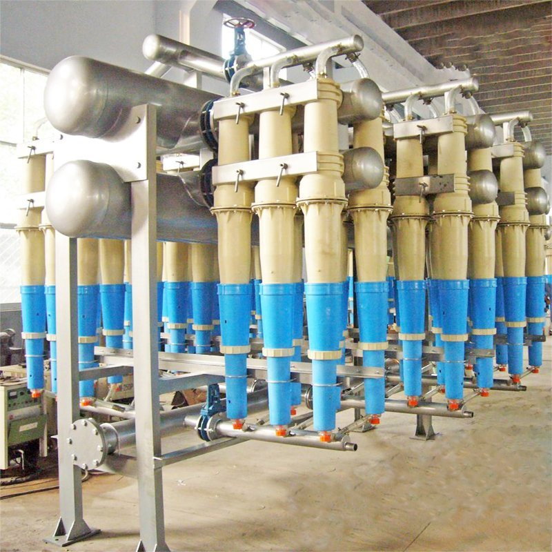 Paper Machine Middle Consistency Cleaner for Toilet Paper