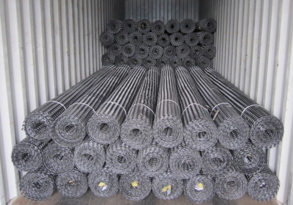 Anti-Corrosion Road Construction Materials Fiber Glass/Plastic PP/Polyester Fibre Geogrid of China