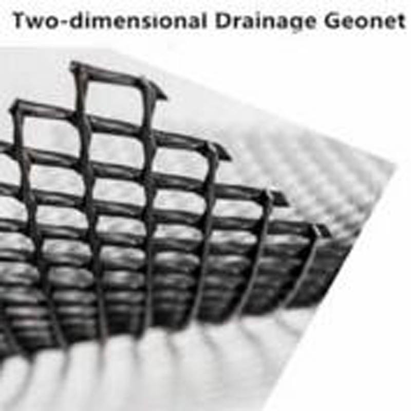 Tr-Dimension Composite Geonet for Drainage