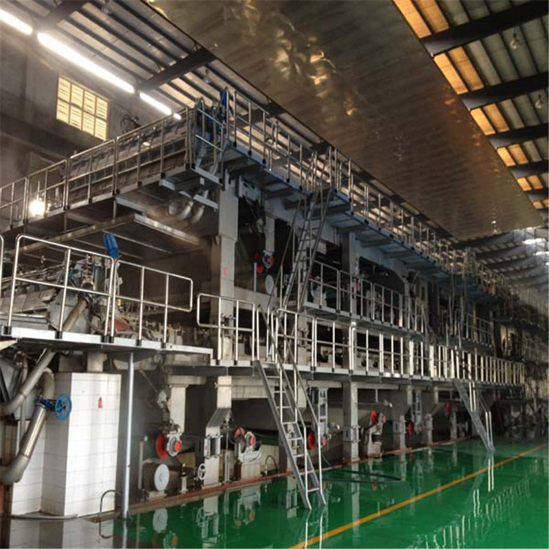Paper Making Three Forming Multi Cylinder Production Line / Kraft Paper Manufacturing Machine