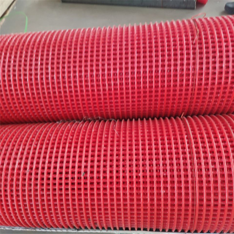 2mm-25mm Hole Steel Core Polyurethane Screen Wire Mesh for Stone