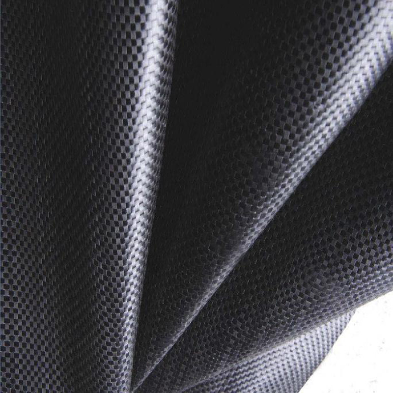 High Strength PP Flat Yarn Woven Geotextile with 8m Width