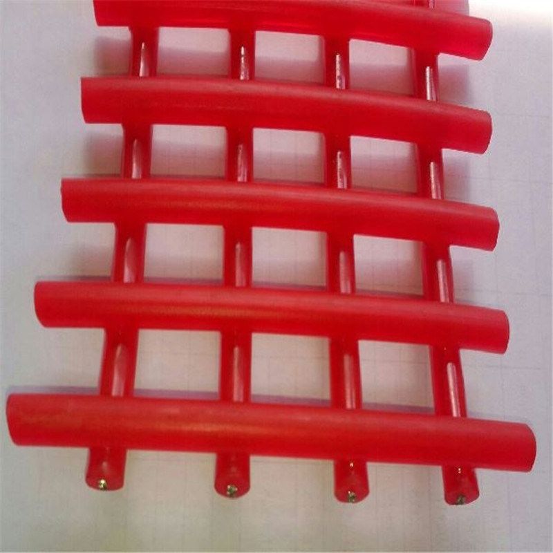 1.5mm Wire Steel Core Polyurethane Wire Screen for Mining Separation