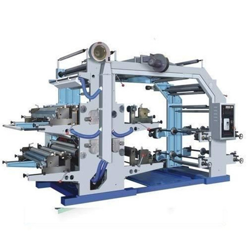 4 Colors 6 Colors High Speed Flexo Printing Machine Featured Image