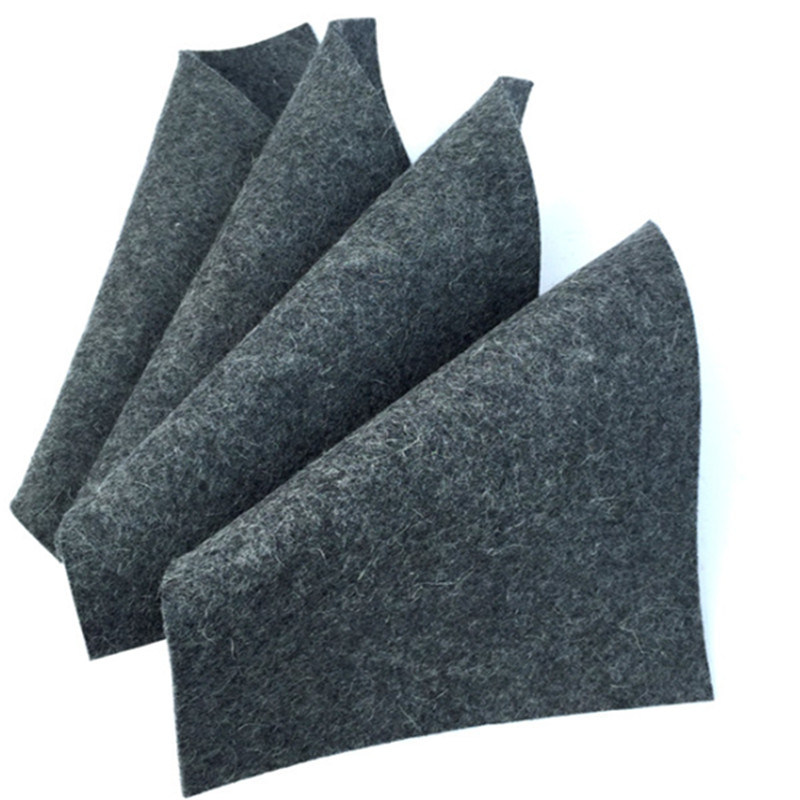 100% Polyester Industrial Felt Fabric 8mm Thickness Felt with 850GSM