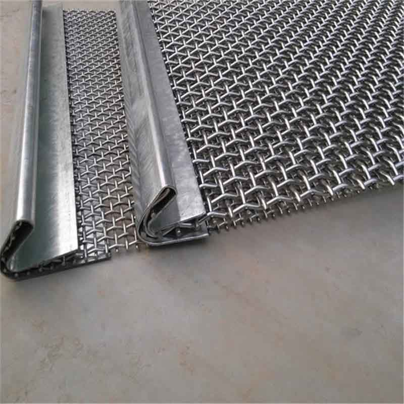 Crimped Wire Mesh Screen for Mining Stone Crusher Vibrating Screen Mesh Woven Wire Mesh