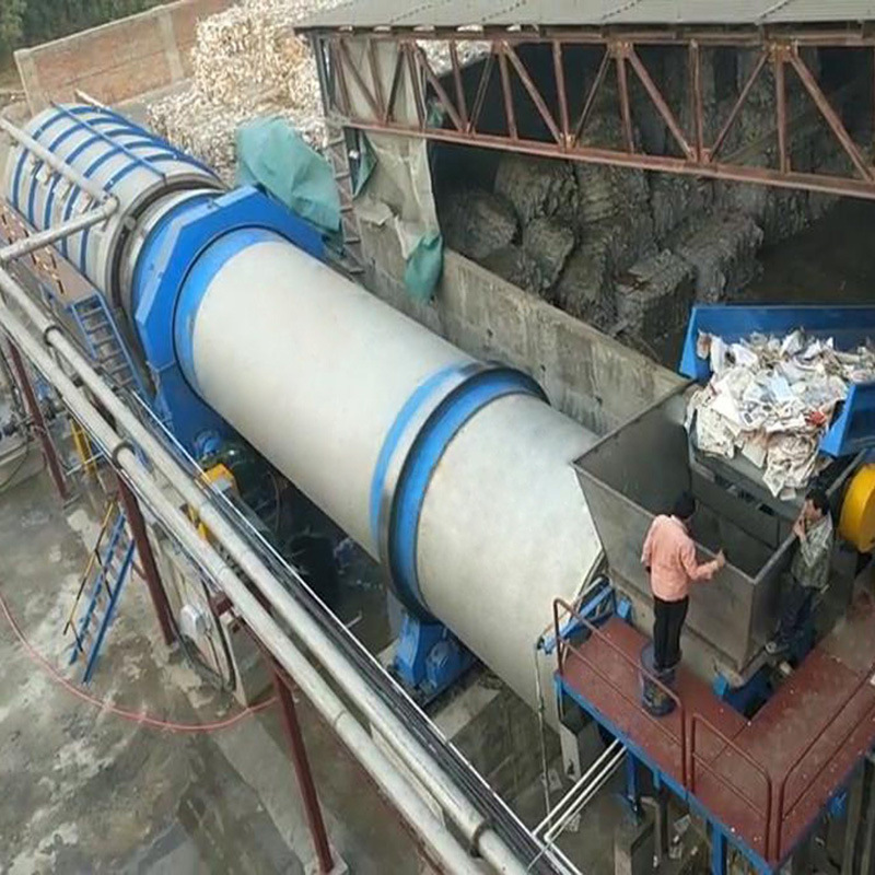 Large Capacity Drum Pulper in Waste Paper Recycling