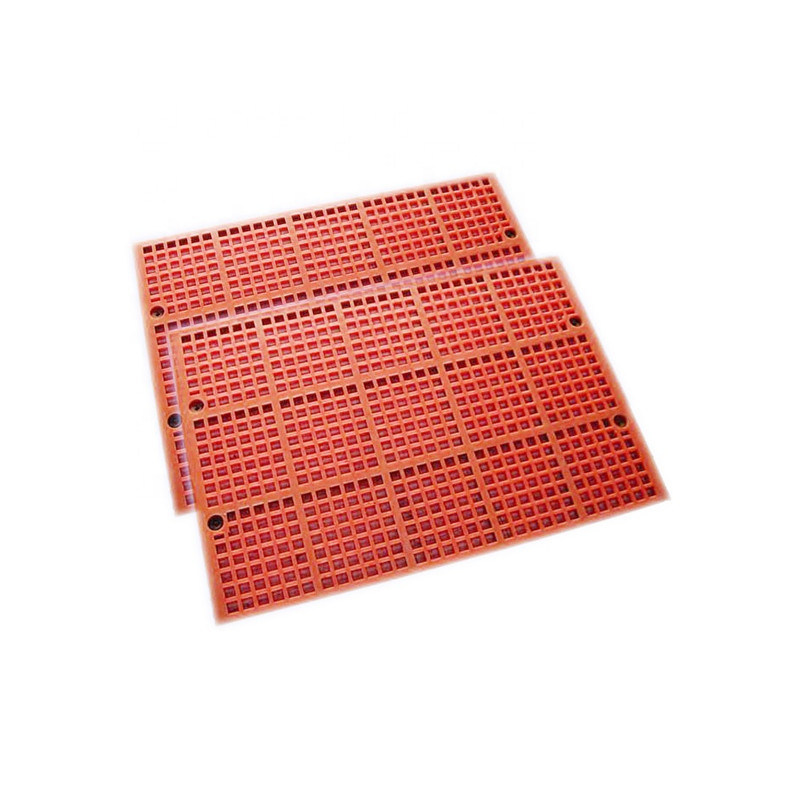 Polyurethane Screen Board for Vibrating Machinery with 40mm Thickness