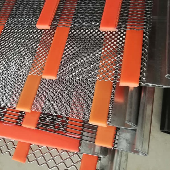 Polyurethane Ripple Self Cleaning Screen for Quarry