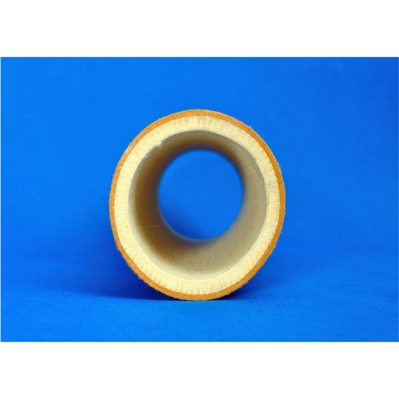 Heat Resistant 10mm Thick Pbo Kevlar Felt Roller for Aluminum Extrusion