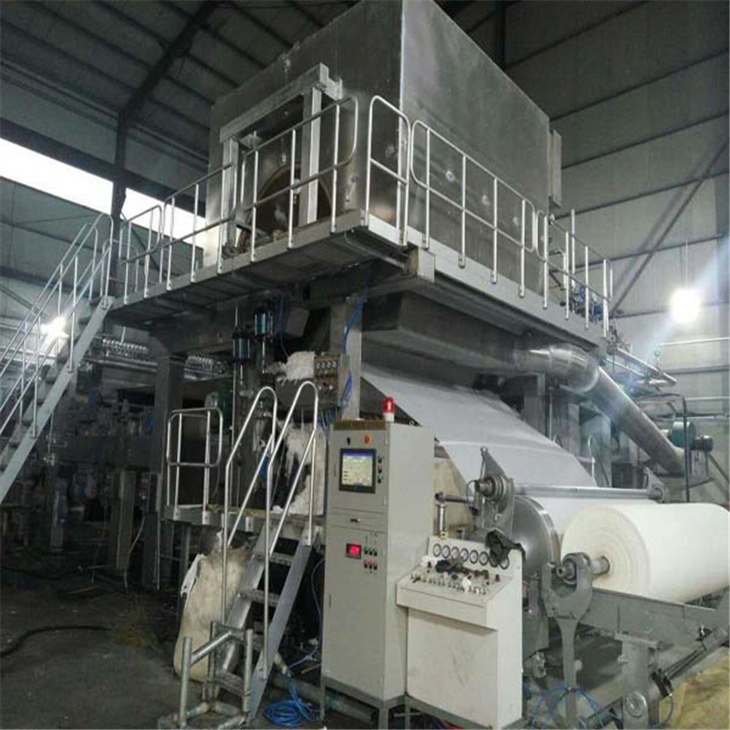 High-Speed and Energy-Efficient Crsecent Former Tissue Paper Machine