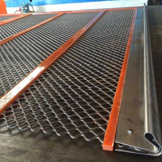 Polyurethane Ripple Self Cleaning Screen for Sand