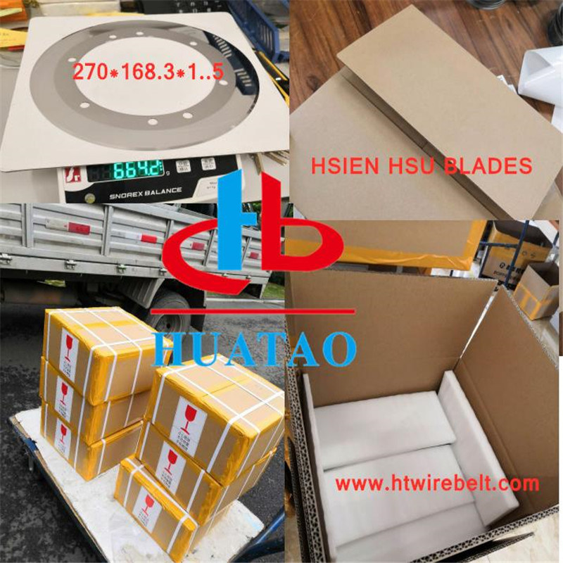 Tungsten Carbide Slitting Blade for Various Brands of Corrugated Machine