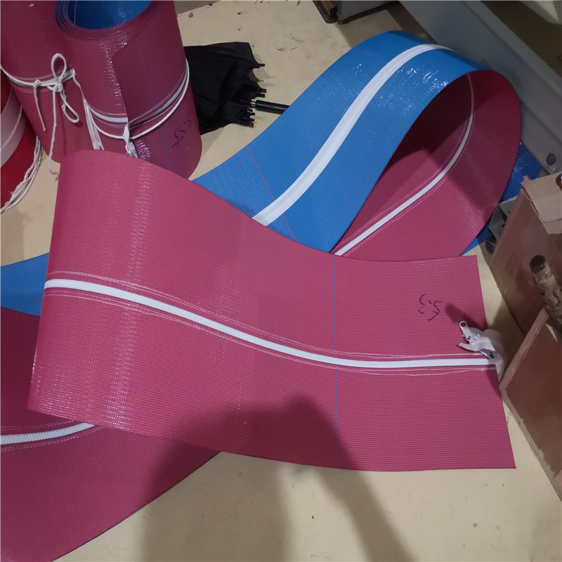 Dryer Belt with Flat Yarn for Drying Section