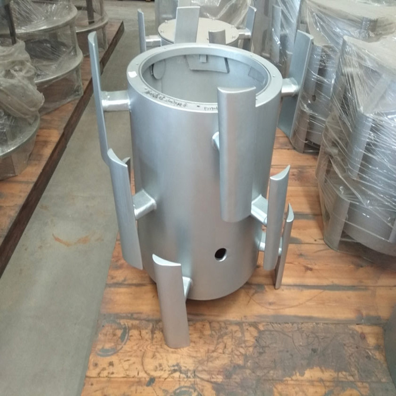 SS304/316 High Wear Resistance Screen Rotor Stock Preparation for Paper Mill